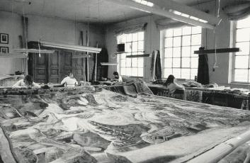 Faccioli restauri atelier di restauro tappeti arazzi e - Pulizia tappeti ammoniaca ...